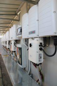 Provincia di Torino - Locale tecnico inverter SolarEdge